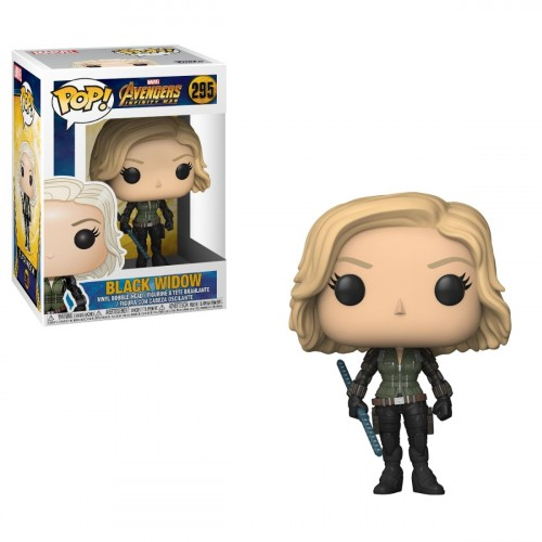 Funko Pop Vingadores Viuva Negra - Black Widow 295-marvel-295