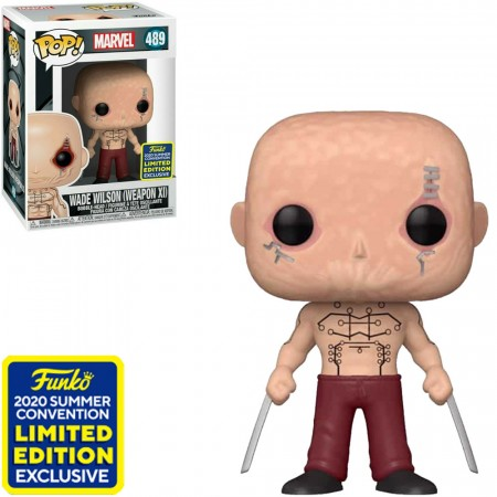 Funko Pop Wade Wilson Sdcc-Marvel-489