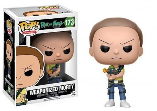 Funko Weaponized Morty-Rick and Morty-173