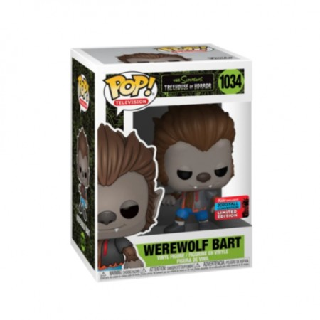 Werewolf Bart - The Simpsons - Funko Pop! #1034 Exclusivo Nycc 2020-The Simpsons-1034