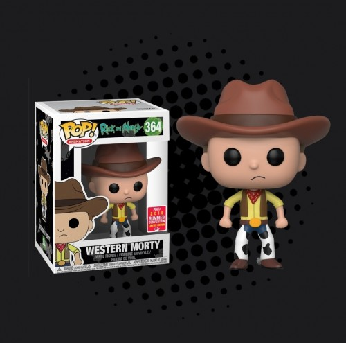 Funko Western Morty - Sdcc 2018-Rick and Morty-364