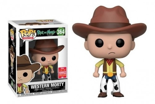 Funko Pop Western Morty - Rick and Morty - #364