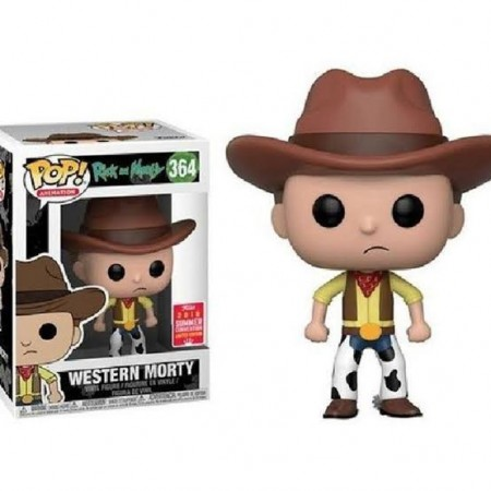 Funko Pop Western Morty-Rick And Morty-364