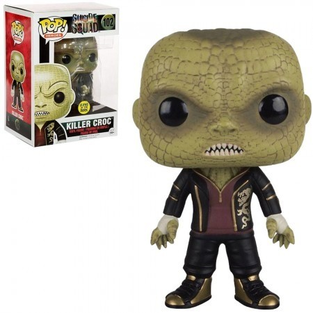 Funko Pop Suicide Squad (esquadrão Suicida) - Killer Croc (crocodilo) Glows In The Dark-Esquadrão Suicida-102