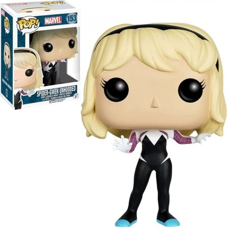Funko Pop Marvel - Spider-gwen Unhooded-marvel-153