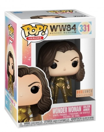 Funko Pop Wonder Woman Excl. Boxlunch-Wonder Woman 84-331