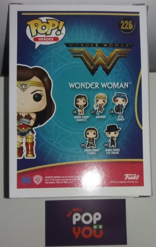Funko Wonder Woman With Gauntlets - DC - #226