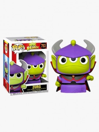 Funko Pop Zurg-Alien Remix-753