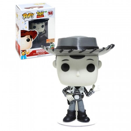 Funko Pop Woody - Box Lunch Exclusive-Toy Story-168