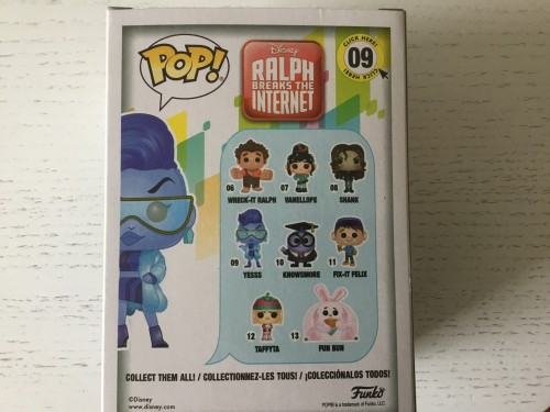 Funko Yesss Chase Limited Edition Disney Ralph Breaks The Internet. Com Protetor - Ralph Breaks The Internet - #9