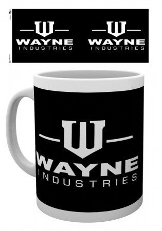 Caneca Batman Wayne Industries-Batman Classic-