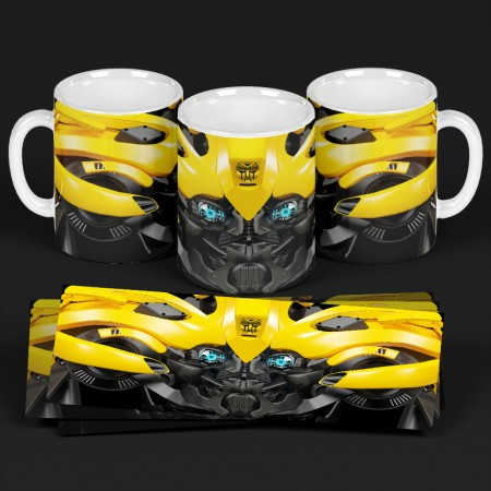 Caneca Bumblebee - Transfomers - #