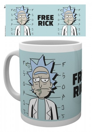 Caneca Rick And Morty-Rick and Morty-