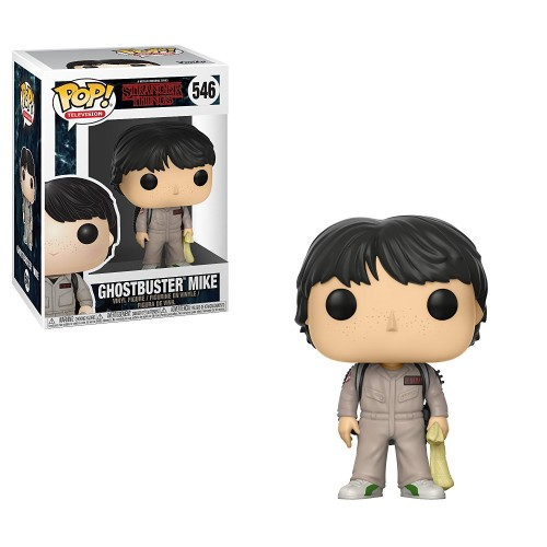 Funko Pop! Mike Ghostbursters (Caça-Fantasmas) - Stranger Things - #546