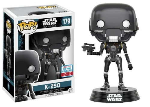 Funko Pop! Rogue One - K2so Exclusivo Nycc-Stars Wars-179