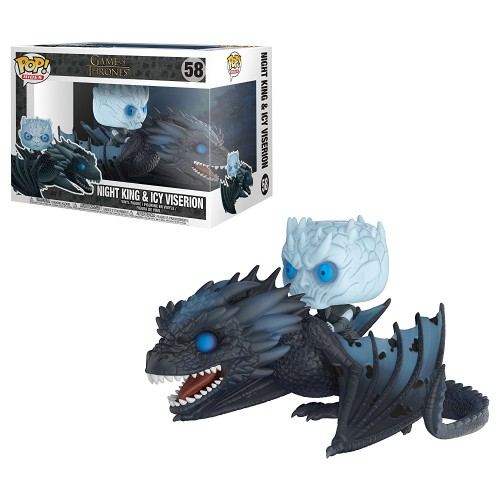 Funko Pop! Night King On Dragon - Game of Thrones - #58