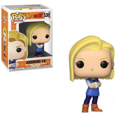 Funko Pop Dragon Ball Z - Android 18-dragon ball Z-530