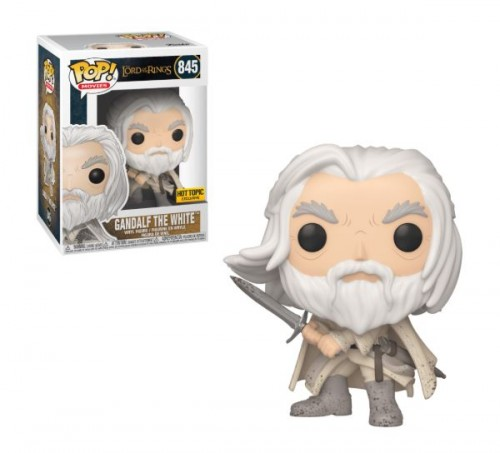 Funko Pop Gandalf The White Hot Topic-Lord Of The Rings-845