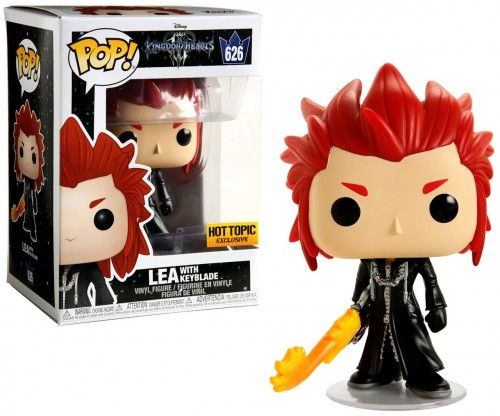 Funko Pop Lea Hot Topic-Kingdown Hearts-626