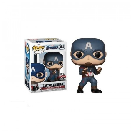 Funko Pop - Avengers Endgame - Captain America 464-Vingadores - Ultimato-464