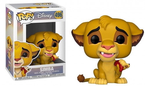 Funko Pop Disney O Rei Leão The Lion King Simba - O Rei Leão - #496