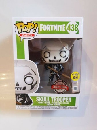 Funko Pop Skull Trooper-Fortnite-438