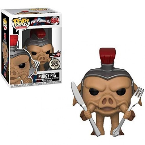 Funko Pudgy Pig - Game Stop-Power Rangers-664