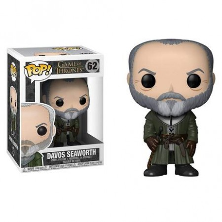 Funko Pop Serie/seriado - Game Of Thrones - Davos Seaworth 62  *danos Na Caixa*-Disney-62