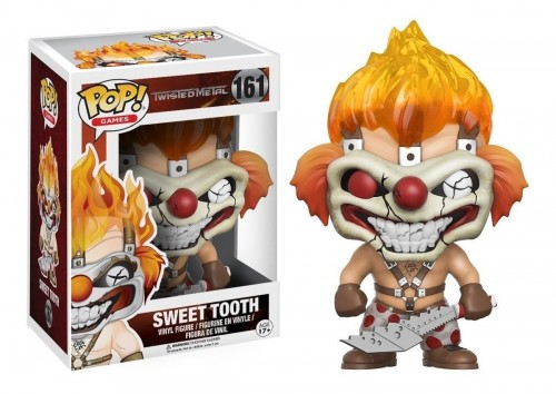 Funko Pop! Games: Twisted Metal - Sweet Tooth-twisted metal sweet tooth-161