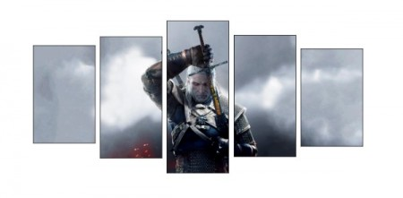 Quadro Decorativo The Witcher-The Witcher-