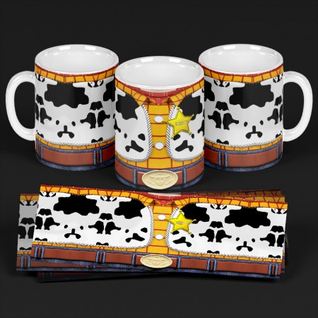 Caneca  Toy Story Woody-Toy Story 4-